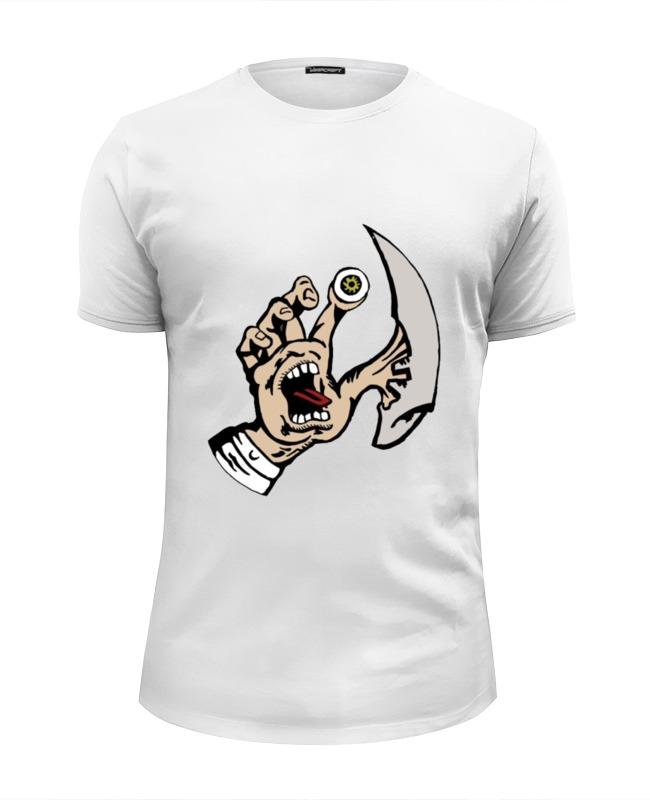 Футболка Wearcraft Premium Slim Fit Printio Рука зомби футболка wearcraft premium slim fit printio рука пистолет bang