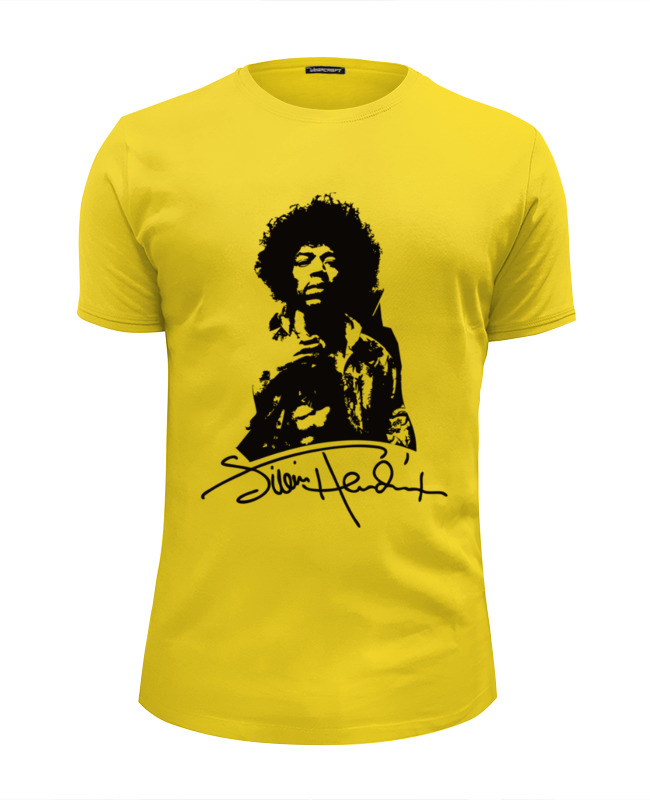 Футболка Wearcraft Premium Slim Fit Printio Jimi hendrix плектр dunlop jimi hendrix 12 medium