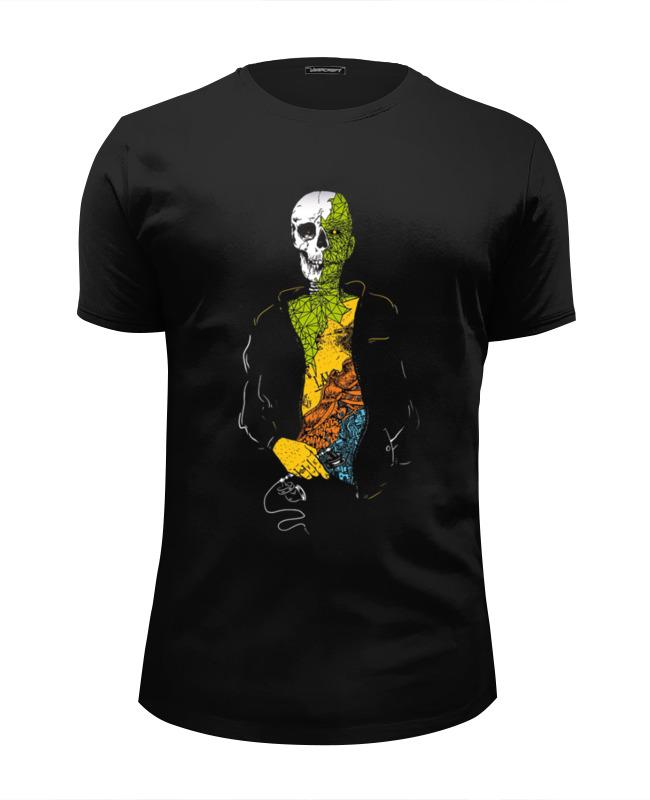 Футболка Wearcraft Premium Slim Fit Printio Хипстер футболка wearcraft premium slim fit printio кот хипстер