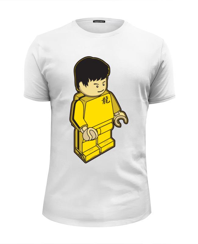 Футболка Wearcraft Premium Slim Fit Printio Брюс ли футболка wearcraft premium slim fit printio брюс ли the glow