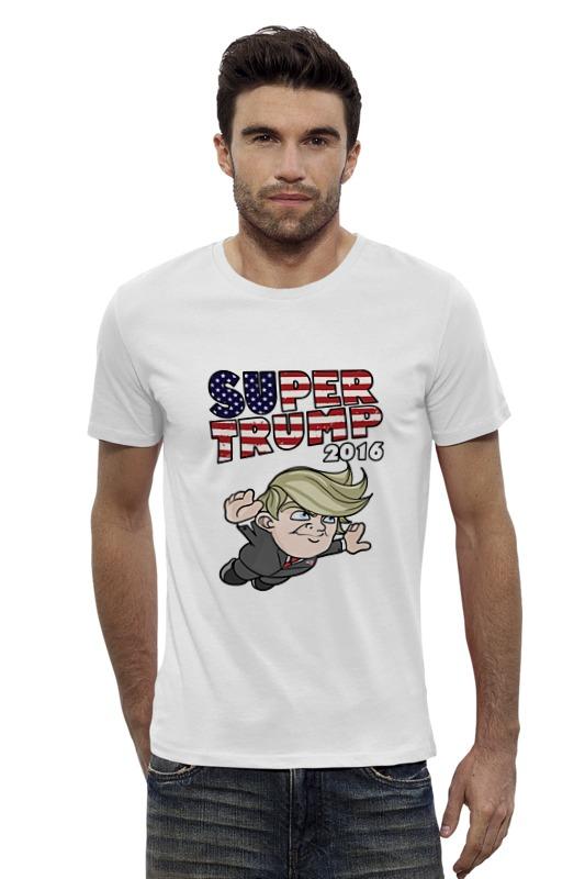 Футболка Wearcraft Premium Slim Fit Printio Супер трамп футболка wearcraft premium printio трамп россия