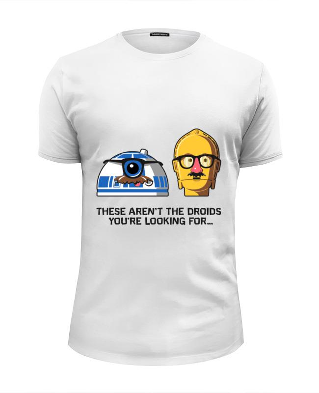 Футболка Wearcraft Premium Slim Fit Printio Это не те дроиды,которых вы ищете футболка wearcraft premium printio support only