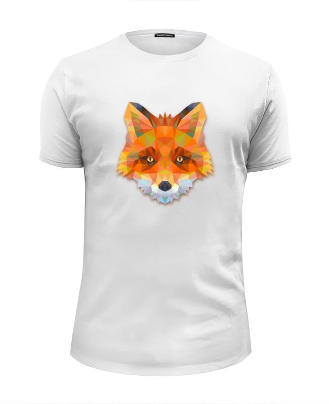 Футболка Wearcraft Premium Slim Fit Printio Полигональная лиса футболка wearcraft premium printio геометрическая лиса