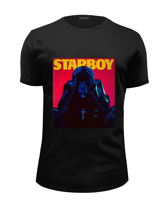Футболка Wearcraft Premium Slim Fit Printio The weeknd starboy the weeknd the weeknd echoes of silence 2 lp