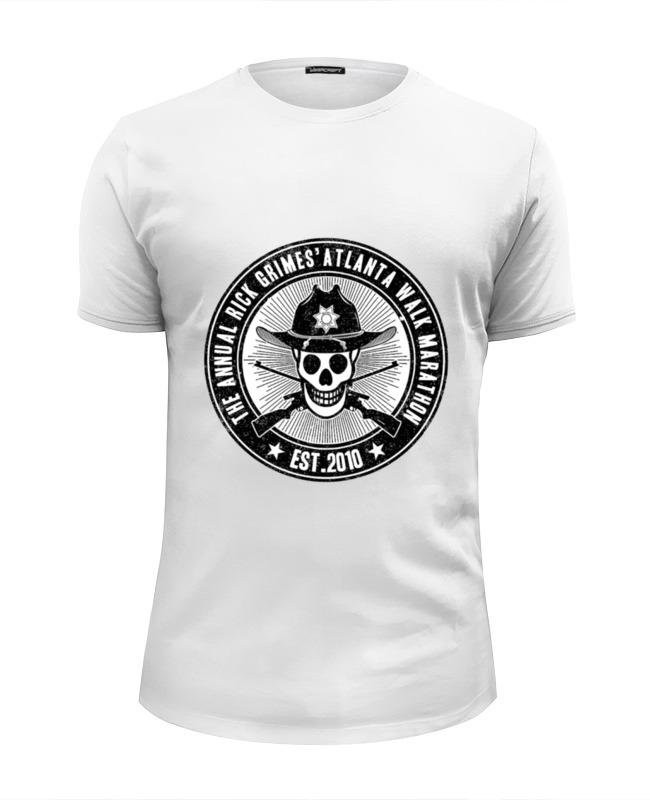 Футболка Wearcraft Premium Slim Fit Printio Ходячие мертвецы футболка wearcraft premium slim fit printio зловещие мертвецы