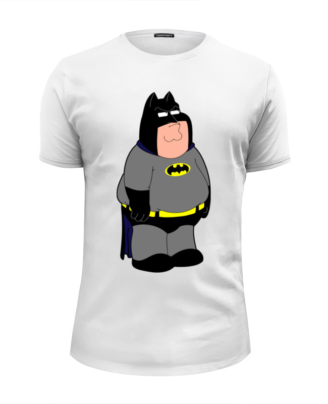 Футболка Wearcraft Premium Slim Fit Printio Бэтмен (гриффины) футболка wearcraft premium slim fit printio гриффины