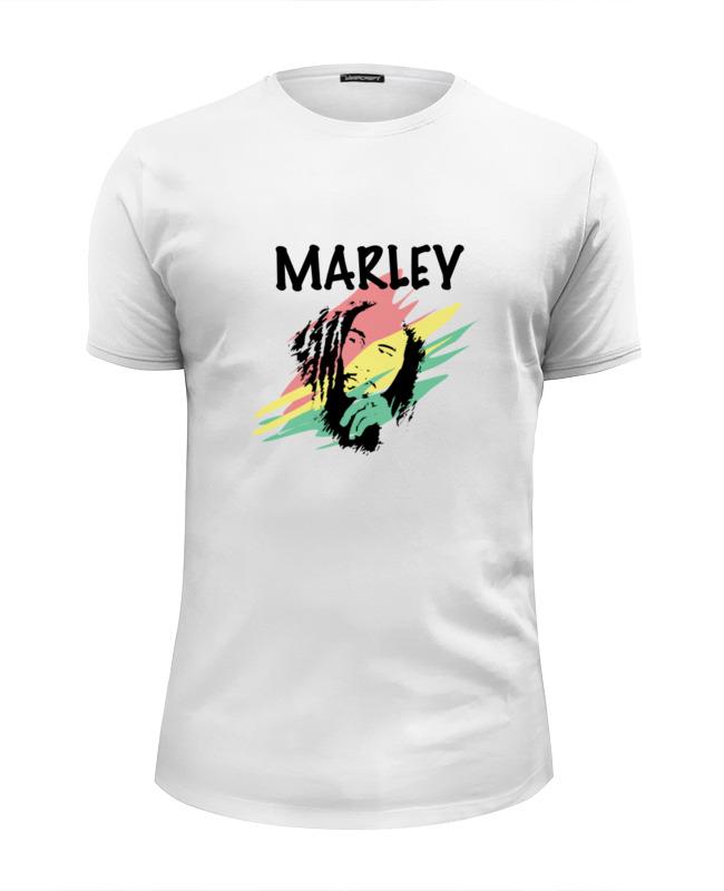 Футболка Wearcraft Premium Slim Fit Printio Marley футболка рингер printio marley