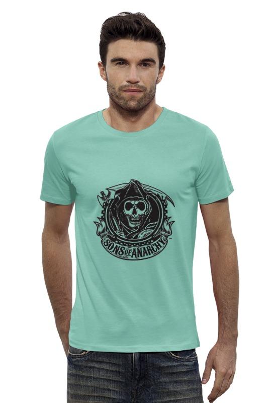 Футболка Wearcraft Premium Slim Fit Printio Sons of anarchy logo футболка wearcraft premium printio сыны анархии