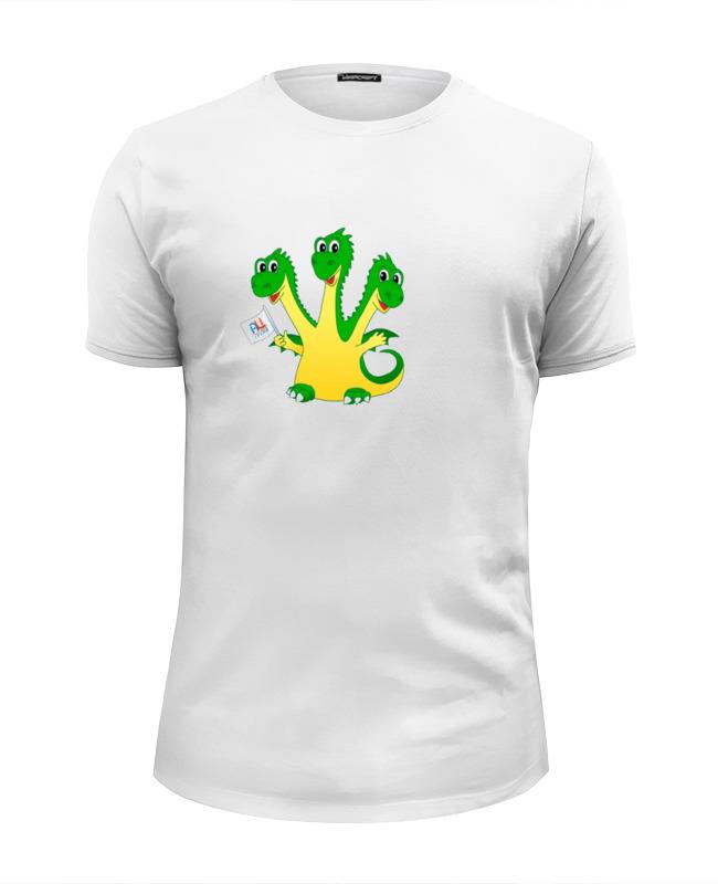 Футболка Wearcraft Premium Slim Fit Printio Драконы футболка wearcraft premium slim fit printio драконы