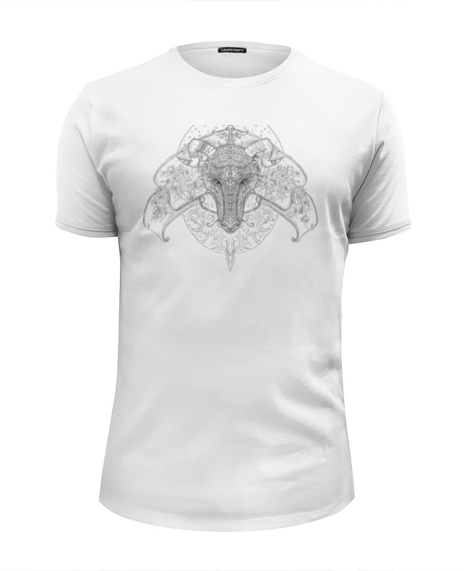 Футболка Wearcraft Premium Slim Fit Printio Тотем дракон футболка wearcraft premium printio китайский дракон