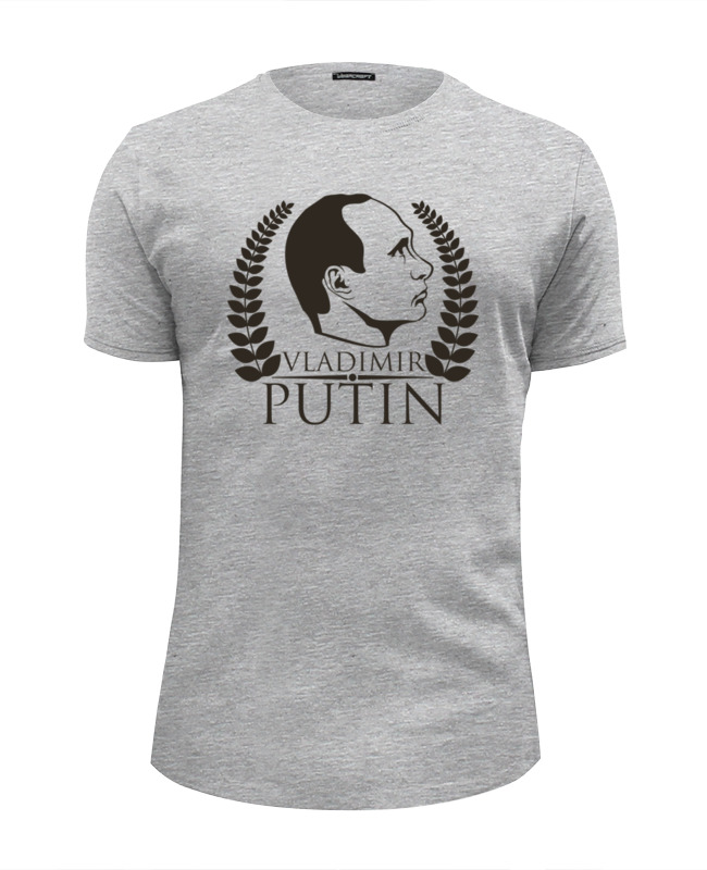 Футболка Wearcraft Premium Slim Fit Printio Vladimir putin футболка wearcraft premium slim fit printio putin forbes