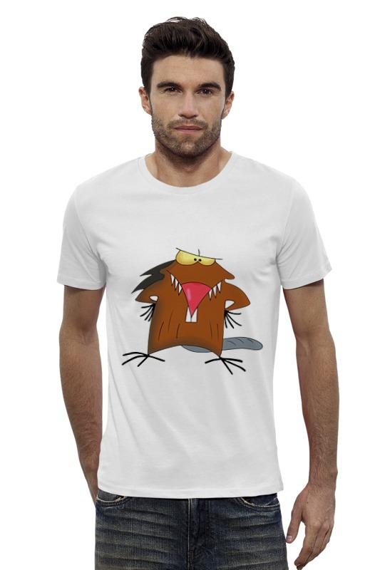 Футболка Wearcraft Premium Slim Fit Printio The angry beavers
