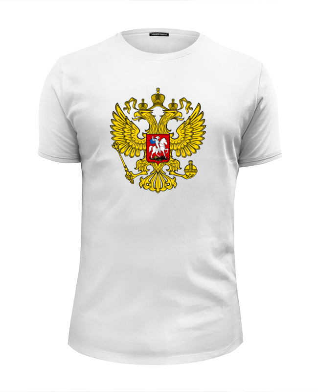Футболка Wearcraft Premium Slim Fit Printio Russian federation