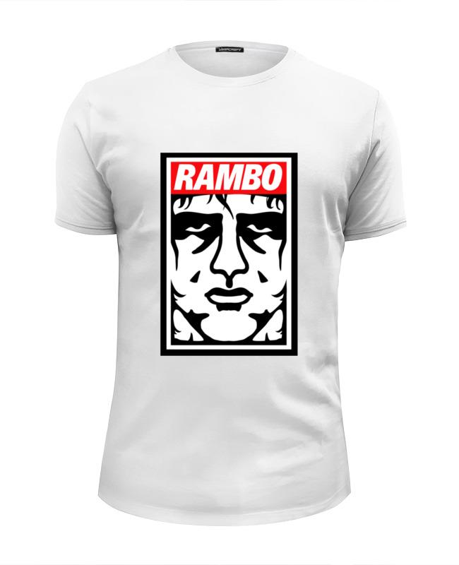 Футболка Wearcraft Premium Slim Fit Printio Рэмбо (rambo) цена