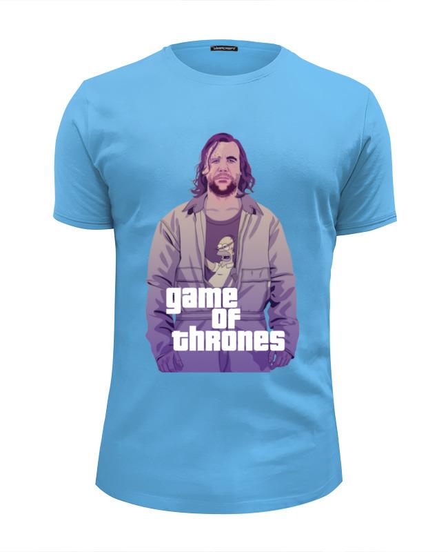 Футболка Wearcraft Premium Slim Fit Printio Gta game of thrones футболка wearcraft premium printio игра престолов game of thrones