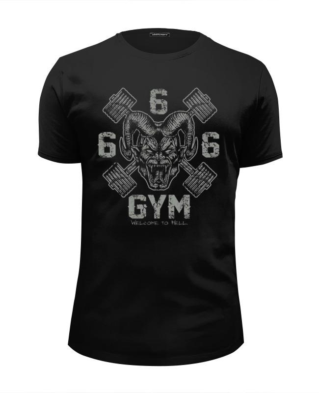 Printio 666 gym футболка 666