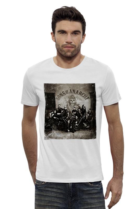 Футболка Wearcraft Premium Slim Fit Printio Сыны анархии футболка wearcraft premium printio сыны анархии