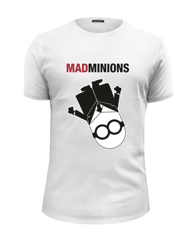 Футболка Wearcraft Premium Slim Fit Printio Mad minions футболка wearcraft premium slim fit printio mad survive