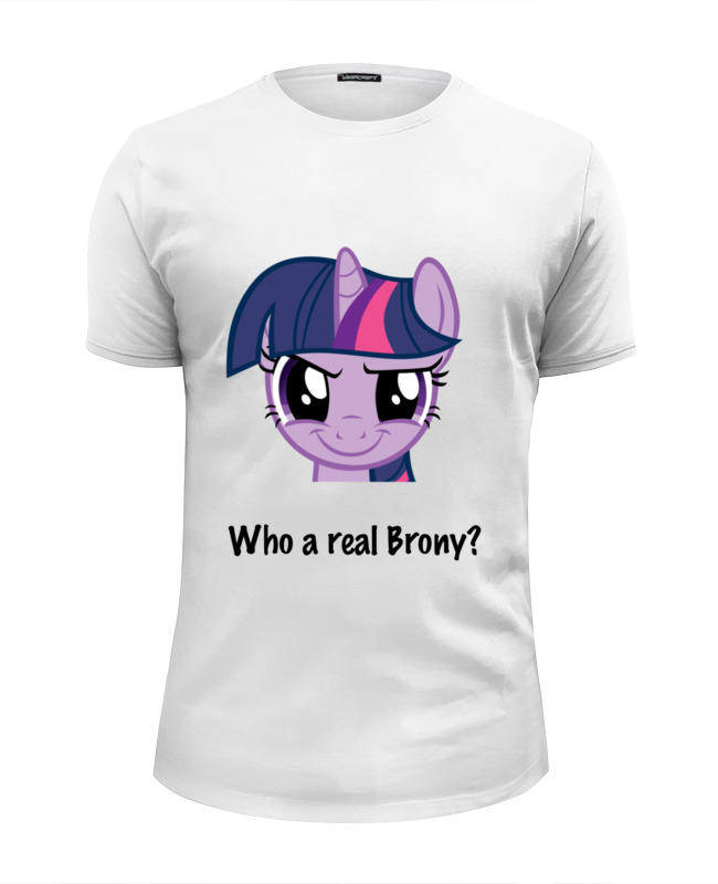 Футболка Wearcraft Premium Slim Fit Printio Twilight sparkle цена