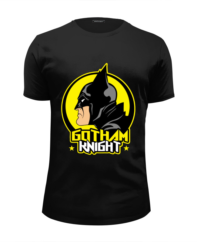 Футболка Wearcraft Premium Slim Fit Printio Gotham knight футболка wearcraft premium printio arkham knight