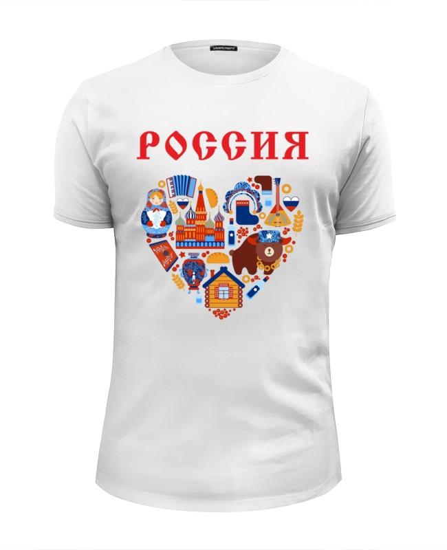 Футболка Wearcraft Premium Slim Fit Printio Россия (1) футболка wearcraft premium slim fit printio россия царская