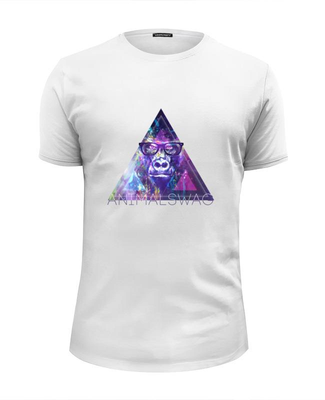 Футболка Wearcraft Premium Slim Fit Printio animalswag collection: gorilla футболка wearcraft premium slim fit printio animalswag collection panda