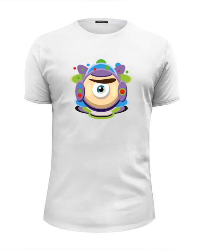 Футболка Wearcraft Premium Slim Fit Printio Базз лайтер (история игрушек) футболка классическая printio базз лайтер история игрушек