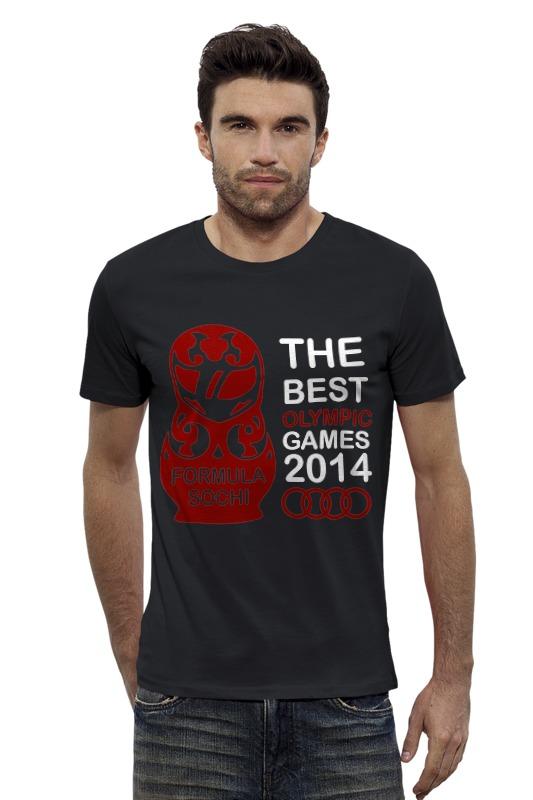 Футболка Wearcraft Premium Slim Fit Printio The best olympic games 2014
