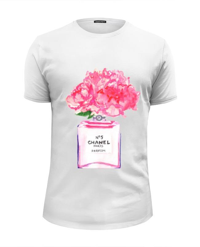 Футболка Wearcraft Premium Slim Fit Printio Флакон цветочных духов