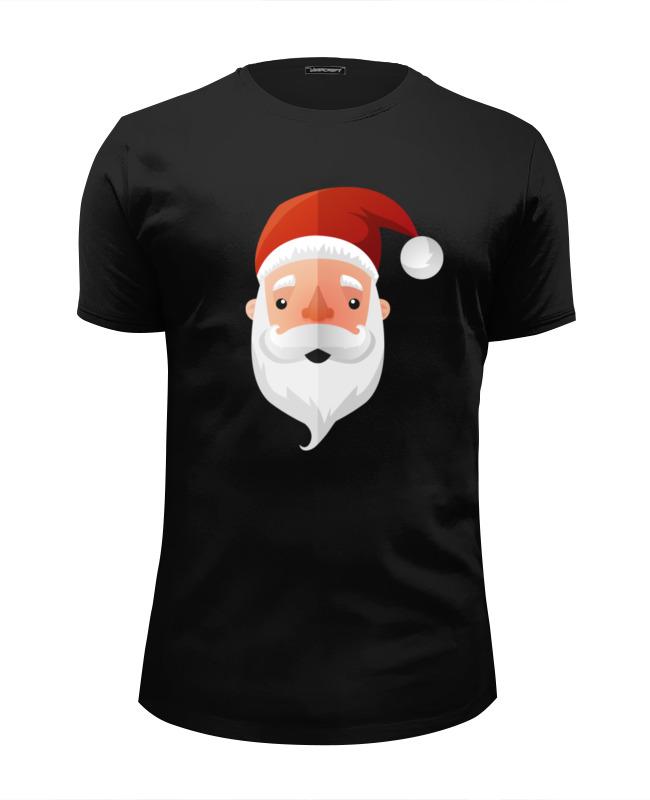 Футболка Wearcraft Premium Slim Fit Printio Дед мороз (santa) футболка wearcraft premium slim fit printio дед мороз santa