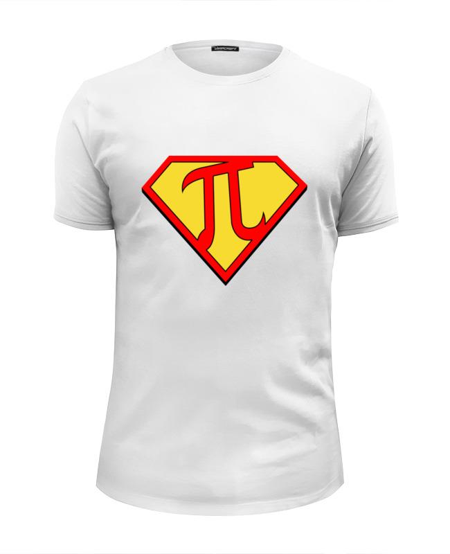 Футболка Wearcraft Premium Slim Fit Printio Супер пи (super pi) футболка стрэйч printio супер пи super pi