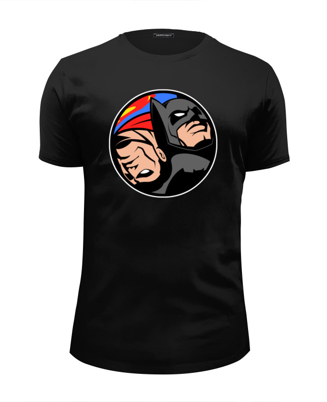 Printio Бэтмен и супермен футболка wearcraft premium slim fit printio бэтмен и супермен