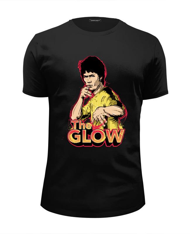 Футболка Wearcraft Premium Slim Fit Printio Брюс ли (the glow) футболка wearcraft premium slim fit printio брюс ли the glow