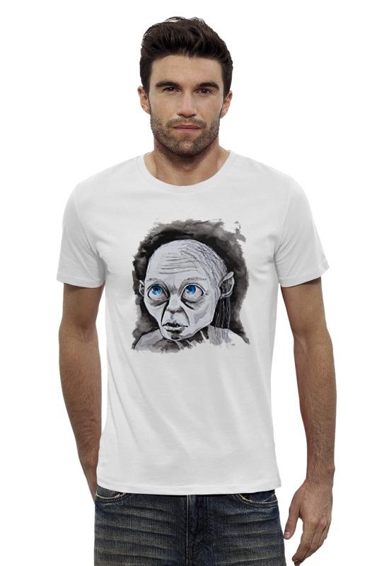 Футболка Wearcraft Premium Slim Fit Printio Голлум (властелин колец) футболка стрэйч printio властелин колец