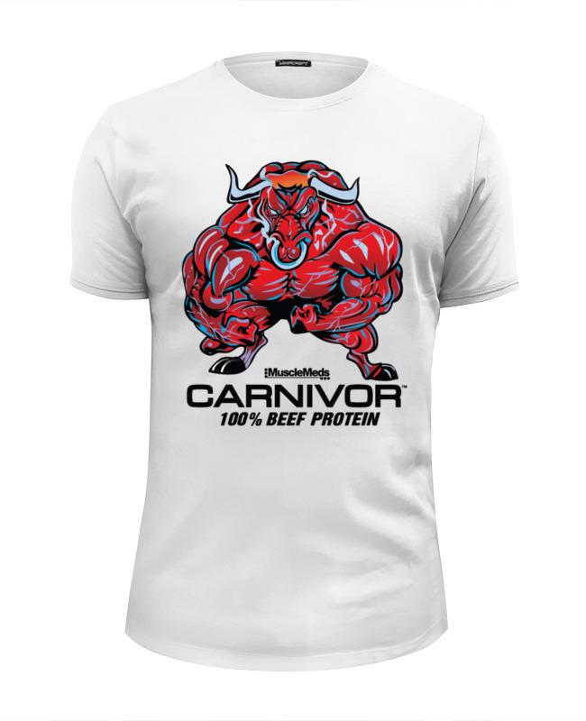 Футболка Wearcraft Premium Slim Fit Printio Bull bodybuilder футболка классическая printio bull bodybuilder