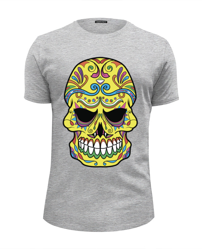 Футболка Wearcraft Premium Slim Fit Printio Skull футболка wearcraft premium slim fit printio skull man