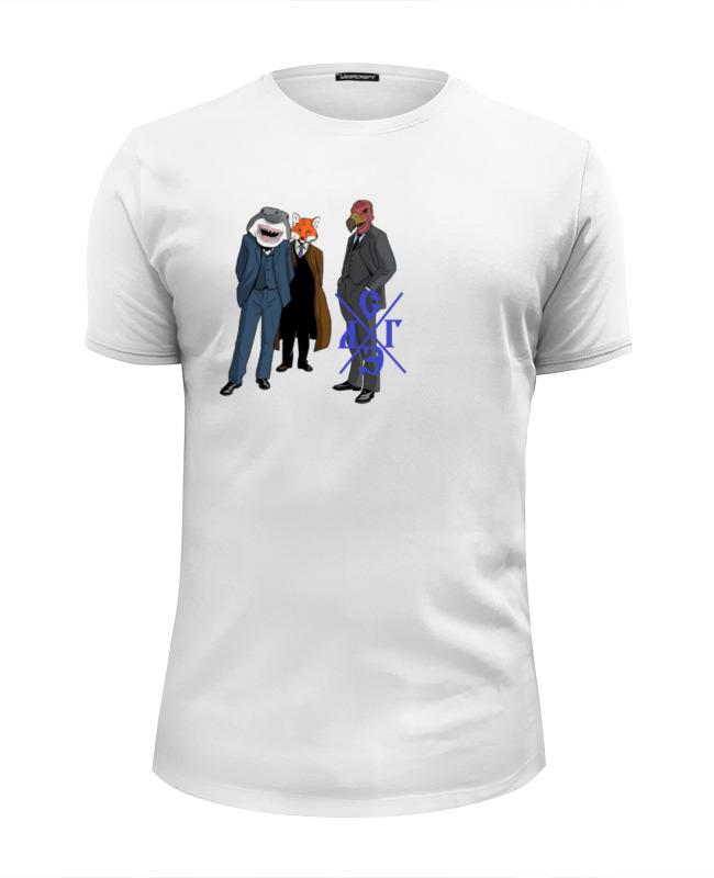 Футболка Wearcraft Premium Slim Fit Printio Деловые мужчины футболка wearcraft premium slim fit printio отличный подарок для мужчины