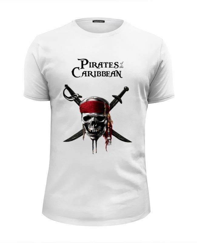 Футболка Wearcraft Premium Slim Fit Printio Пираты карибского моря детский костюм джека воробья 36