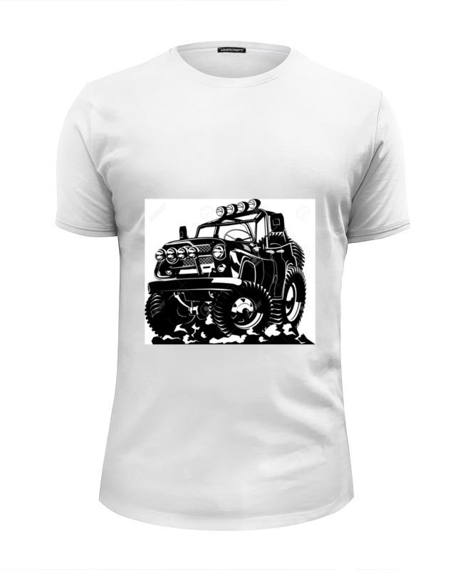 Футболка Wearcraft Premium Slim Fit Printio Авто уаз футболка уаз