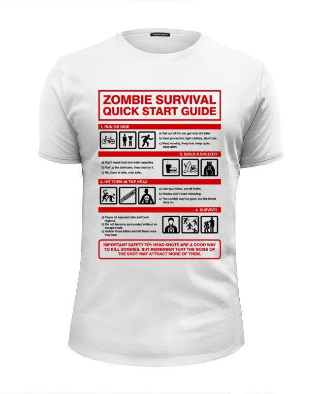 Printio Зомби апокалипсис. инструкция по выживанию футболка wearcraft premium printio зомби апокалипсис отряд быстрого реагирования