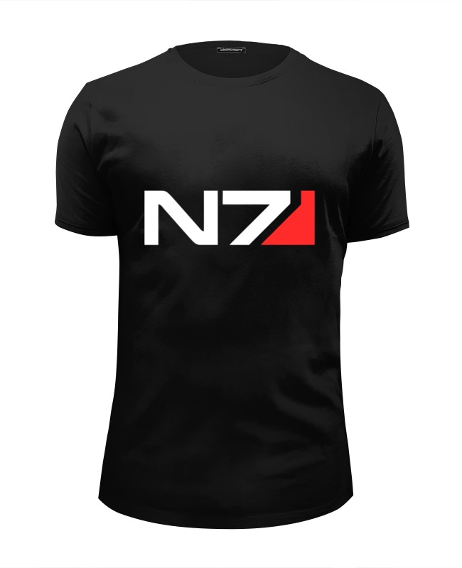 Футболка Wearcraft Premium Slim Fit Printio N7 (mass effect) футболка wearcraft premium slim fit printio n7 mass effect