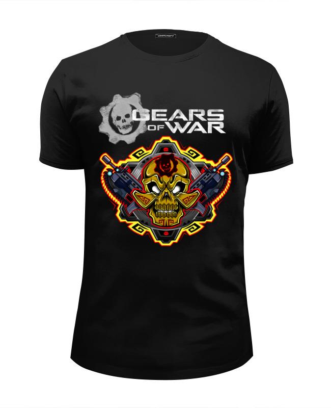 Футболка Wearcraft Premium Slim Fit Printio Gears of war футболка wearcraft premium slim fit printio tides of war