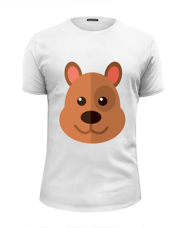 Printio Мишка футболка wearcraft premium slim fit printio белый мишка