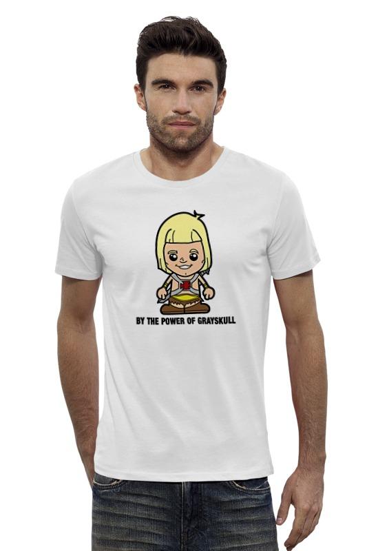 Футболка Wearcraft Premium Slim Fit Printio Хи-мен футболка wearcraft premium slim fit printio батрос хи мен