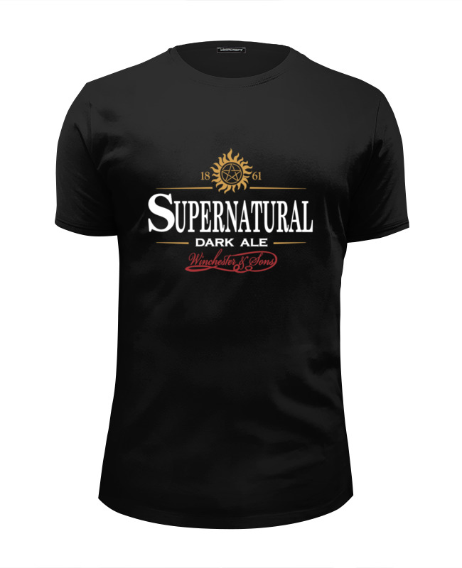 Футболка Wearcraft Premium Slim Fit Printio Supernatural dark ale футболка wearcraft premium slim fit printio dark
