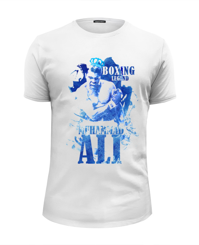 Printio Легенды бокса:мухамед али футболка wearcraft premium printio легенды бокса мухамед али