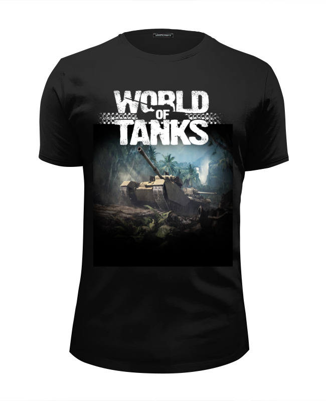 Футболка Wearcraft Premium Slim Fit Printio World of tanks