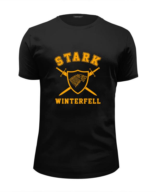 Футболка Wearcraft Premium Slim Fit Printio Старки (игра престолов) футболка wearcraft premium printio игра престолов game of thrones