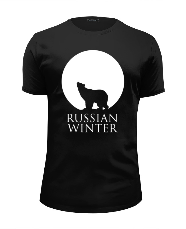 Футболка Wearcraft Premium Slim Fit Printio Russian winter нож строительный archimedes 90673