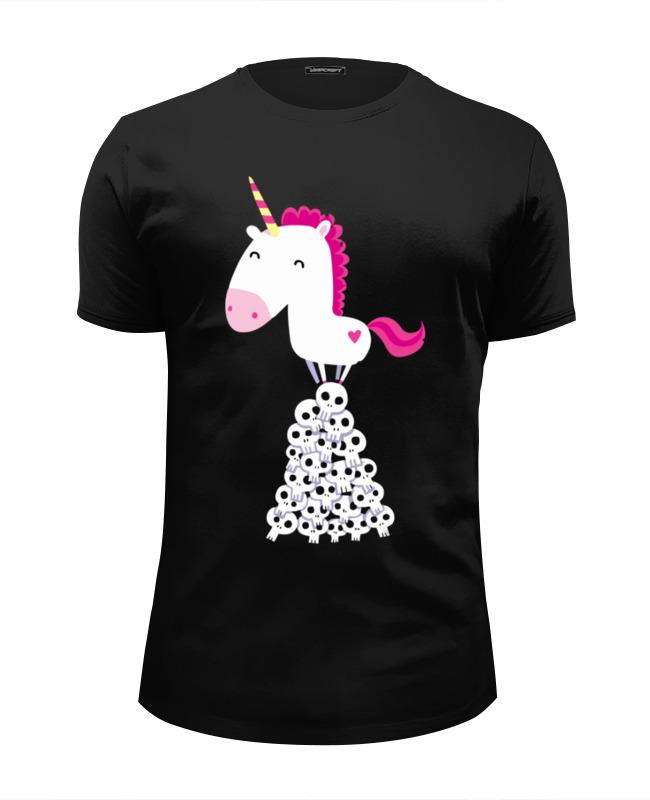 Printio Радуга единорог футболка единорог